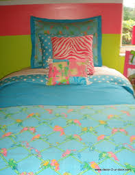 Teal Blue And Lime Green Bedspreads Bedroom Custom Lilly Pulitzer Bedding In Blue Theme With Pink And