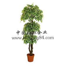 artificial silk green white jujube foliage tree manufacturers and