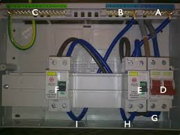 to install a 17th edition consumer unit