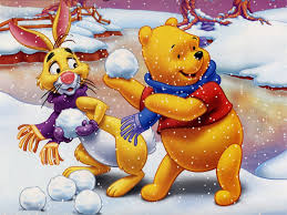 winnie pooh christmas wallpaper wallpapersafari