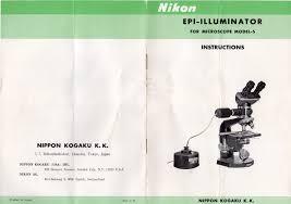 into the woods u203a nikon model s microscope