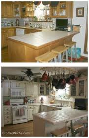 Rustoleum Kitchen Makeover - check out this kitchen makeover before u0026 after with rust oleum