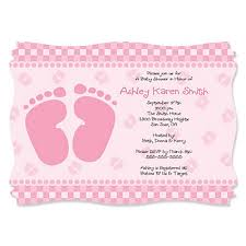 pink baby shower baby pink personalized baby shower invitations