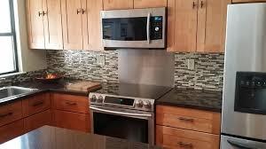 Peel And Stick Kitchen Backsplash Ideas by Peel And Stick Kitchen Backsplash For 50 Self Stick Glass Tile