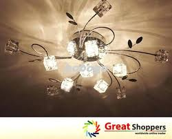 Chandelier Ceiling Fans With Lights Chandelier Light For Ceiling Fan Shermanthomas Me
