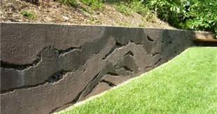 layers concrete wall vertical stamping ron odell u0027s custom