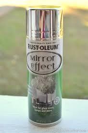 Krylon Mirror Glass Spray Paint - diy mercury glass pumpkin how to turn any glass into mercury