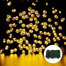 Best Solar String Lights by Ledertek 200 Led Warm White String Lights
