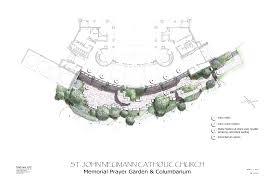 Trellis Plan by St John Neumann Catholic Church Columbarium