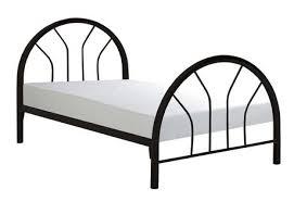 monarch specialties black metal twin bed frame walmart canada