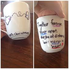 diy best friend mug made it for my cousin for christmas so cute