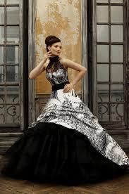 Black And White Wedding Dress Beautiful Black Lace Wedding Dresses Naf Dresses