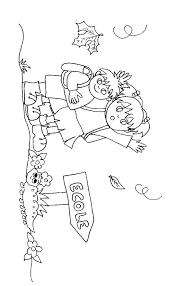 coloriage des enfants sur la route de l u0027école tête à modeler