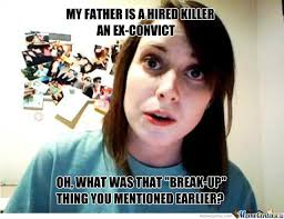 Attached Girlfriend Meme - overly attached girlfriend s daddy by jumbodaigo meme center