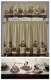 coffee kitchen curtains coffee kitchen curtains