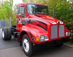 custom vehicle graphics portland pacific truck colors