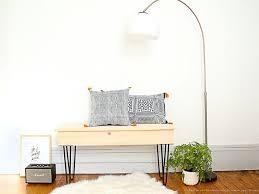 fabriquer porte manteau sur pied ripaton construire un meuble à l u0027aide de pieds de table design