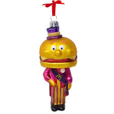 mayor mccheese blown glass ornament smilemakers