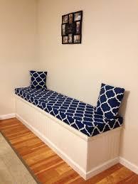 play room bench cushion grey bench pad white storage bench wall
