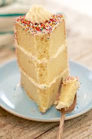 vanilla birthday cake recipe gemma u0027s bigger bolder baking