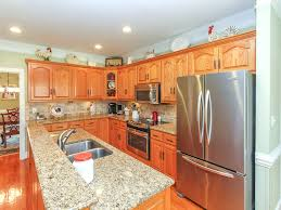 backsplash tile ideas for kitchens granite countertop how to laminate cabinets blue backsplash