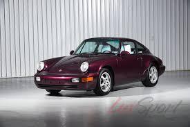 1992 porsche 964 carrera 2 coupe carrera stock 1992120 for sale