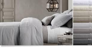 Duvet Covers Restoration Hardware Bed Linen Collections Restoration Hardware Broderick Street