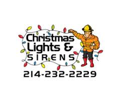 8 professional logo designs for christmas lights u0026 sirens 214 232