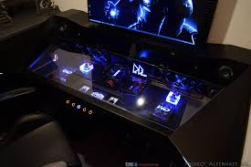 Pc Gaming Desks by Gaming Desk Mods Rog Republic Of Gamers Global