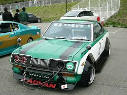 toyota corona rare bosozoku cars toyota corona mark ii t60 t70 bosozoku style