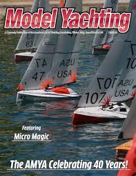 Radio Control Model Boat Magazine American Model Yachting Association