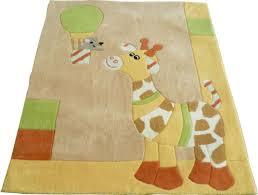 teppich kinderzimmer kinderzimmer teppich gloria giraffe sterntaler 96170 highlight