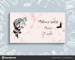 business cards corporate identity corporate style makeup artist