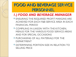 F B Manager Resume Sample by Food And Beverage Manager Resume Food And Beverage Resume