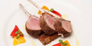 seaweed crusted lamb recipe great british chefs
