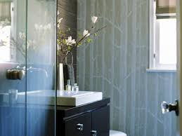 Wallpaper Ideas For Small Bathroom Bathroom Style Guide Hgtv