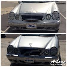 mercedes paint repair mercedes auto repair athans auto paint