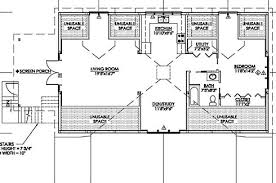 Floor Plan For Residential House Pole Barn House Plans Post Frame Flexibility