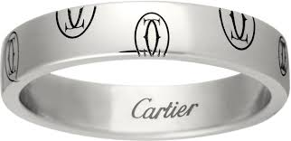 cartier alliances crb4050900 logo de cartier wedding band white gold cartier