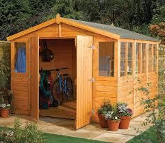 rowlinson workshop 9ft x 15ft shed shiplap cladding garden