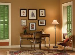 A Study With Walls In by Wall Color For Office Wallartideas Info