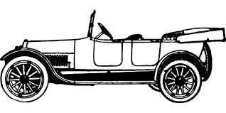 cartoon car black and white black and white antique car clipart the cliparts