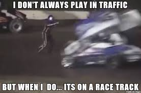 Dirt Track Racing Memes - tony stewart hits and kills driver kevin ward jr at canandaigua