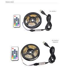 Wireless Led Strip Lights by 30led M Dc 5v Usb Cable Rgb Led Strip Light Ribbon String Tape 1m