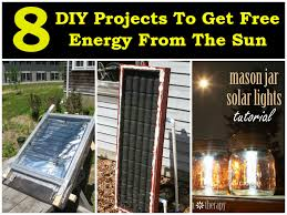 Diy Solar Light by Diy Projects To Get Free Energy From The Sun