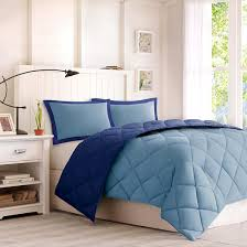 Home Classics Reversible Down Alternative Comforter Windsor Reversible Microfiber Down Alternative Comforter Set With