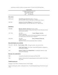 Liaison Resume Sample International Resume Examples International Student Sample Resume