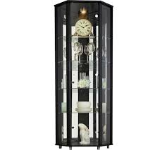 Glass Display Cabinets Newcastle Buy Home Single Door Corner Glass Display Cabinet Black At Argos