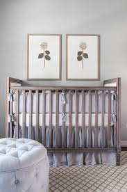 grey and orange crib bedding design ideas