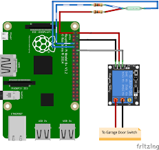 Wiring Diagram For Garage Door Opener by Github Simianhacker Rpi Garage Door A Raspberry Pi Automatic